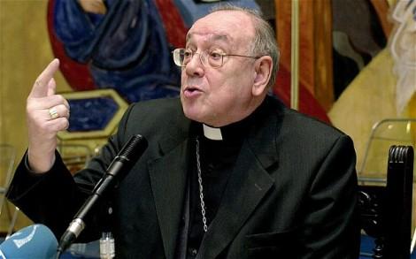 Cardenal español Fernando Sebastián Aguilar