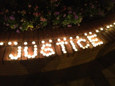 tallahassee protest dream defenders justice lights
